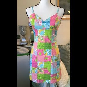 Lilly Pulitzer colorful dress. Size 0